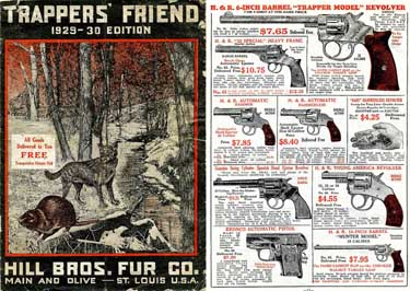 Trapper's Friend - 1929-30 Hill Bros Gun Catalog
