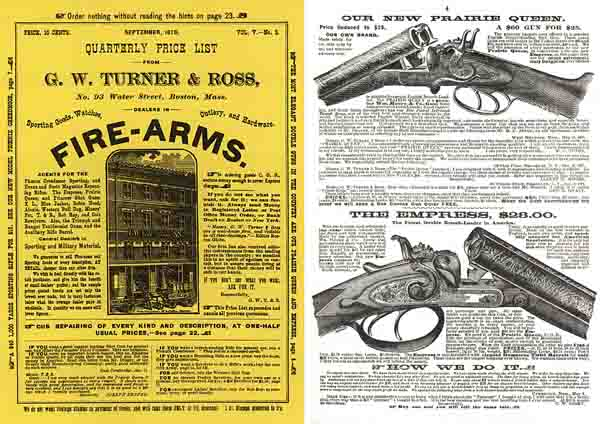 Turner & Ross 1878 Gun Catalog (Boston)