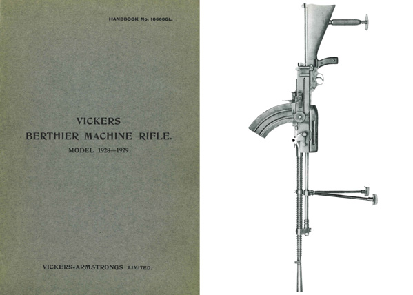 Vickers 1928 Berthier m1928-29 Machine Gun Manual