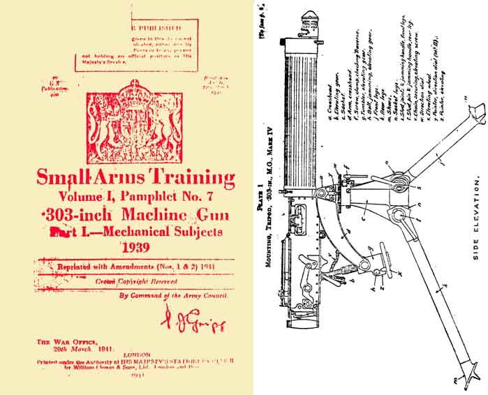 Vickers 1939 .303 Machine Gun Part 1 Small Arms Training Vol 1 #7