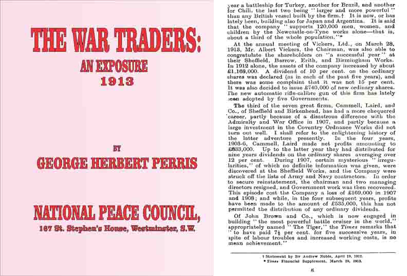 The War Traders: An Exposure 1913