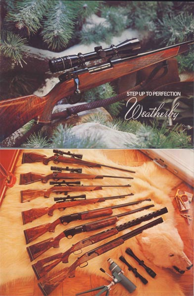 Weatherby 1974 Fine Firearms Catalog