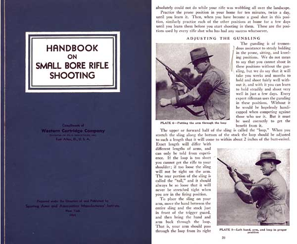 Western Ammunition- Handbook on Small Bore Rifle Shooting 1941 - Whelen