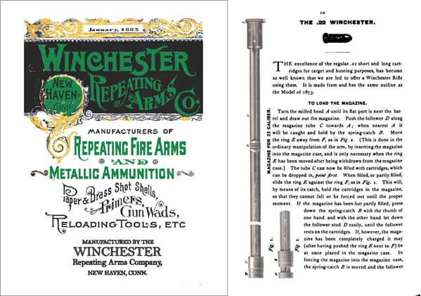 Winchester 1885 January Firearms Catalog
