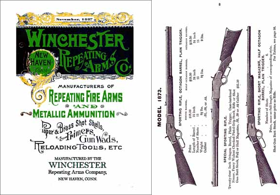 Winchester 1887 November Arms & Ammo No.44