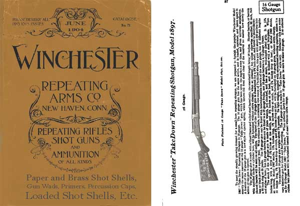 Winchester 1904 June Firearms Catalog