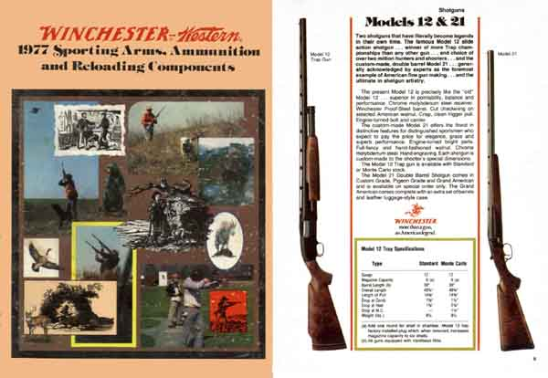 Winchester 1977 Gun Catalog (pocket)