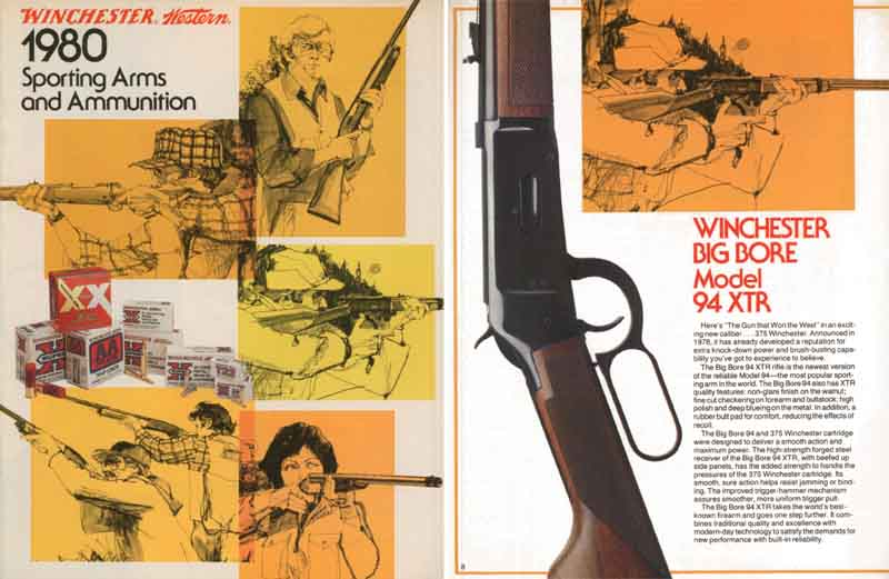 Winchester 1980 Arms and Ammunition Catalog