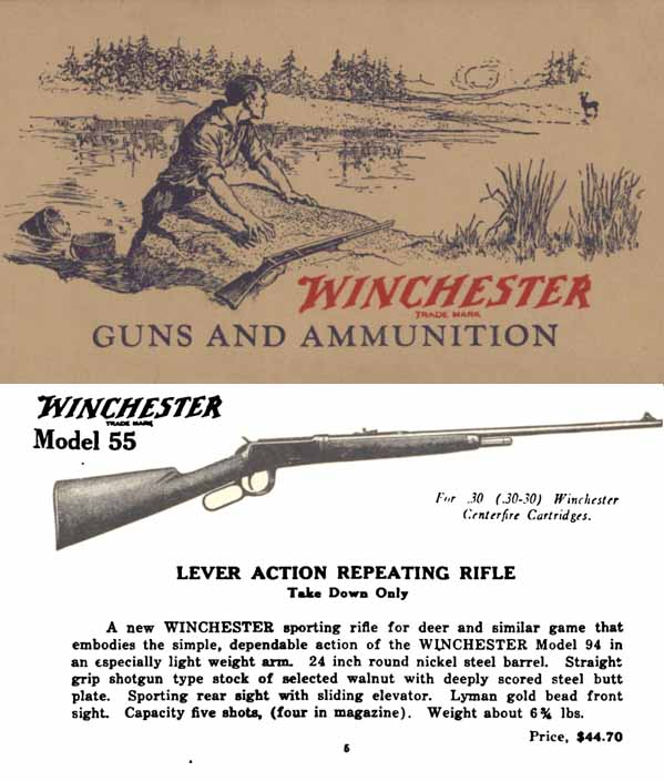 Winchester c1926 Pocket Catalog