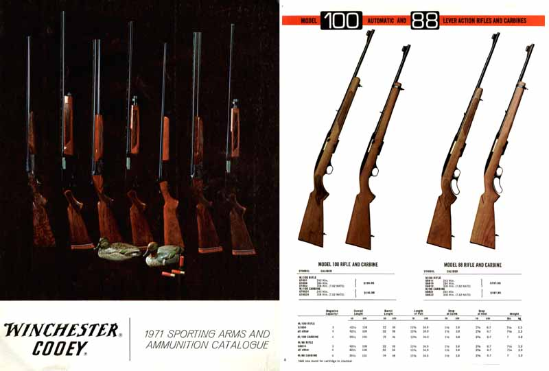 Cooey-Winchester 1971 (Canadian) Gun Catalog