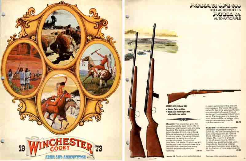 Cooey-Winchester 1973 (Canadian) Gun Catalog