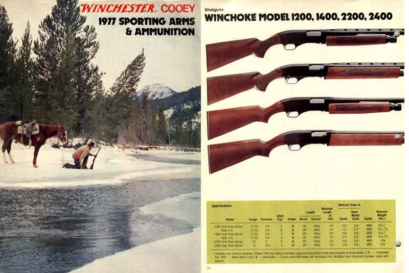 Cooey-Winchester 1977 (Canadian) Gun Catalog
