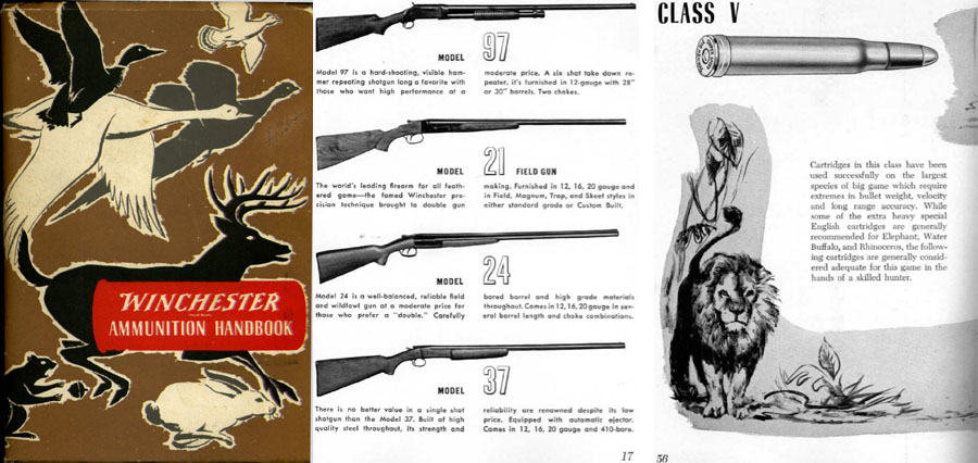 Winchester 1955 Ammunition Handbook 5th Ed.