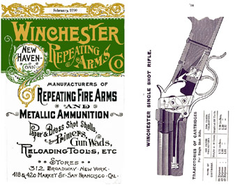 Winchester 1890 February - Repeating Arms Catalog