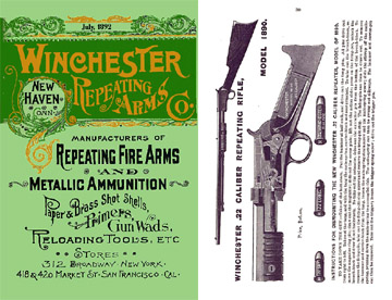 Winchester 1892 July- Repeating Arms Company Catalog