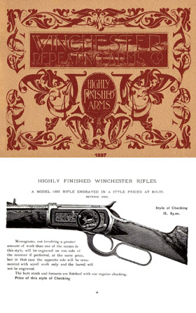 Winchester 1897 Rifle Engraving