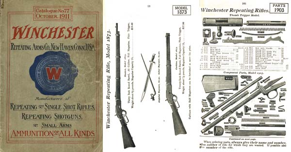 Winchester 1911- October Rifle and Ammunition Catalog No.77