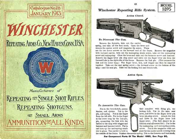 Winchester 1913 Jan- Arms Company Catalog
