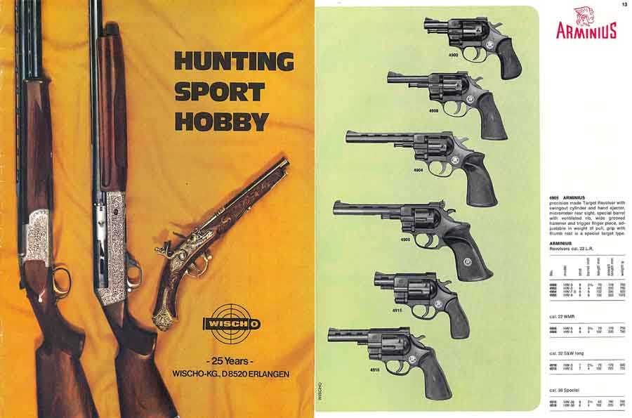 Wischo Sport & Hobby c1973 Erlangen, Ger. (in English)