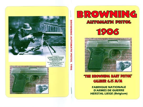 Browning 1906 - 6.35mm/.25 cal