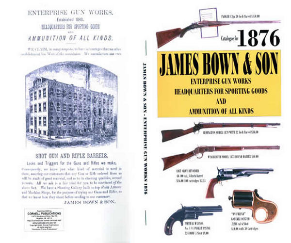 Bown 1876, James & Son Enterprise Gun Works, Sporting Goods, Pittsburgh, PA
