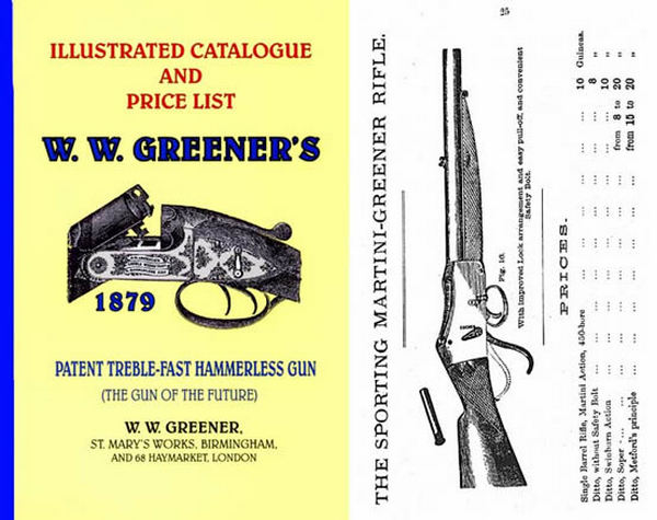 WW Greener 1879 Illustrated Gun Catalog (England)