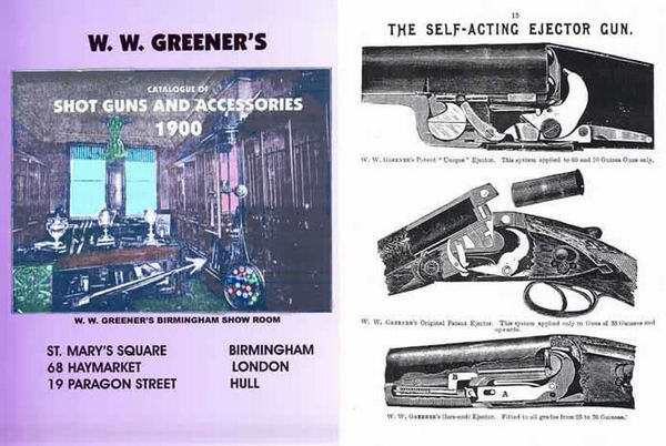 WW Greener 1900 Shot Guns and Accessories Catalog