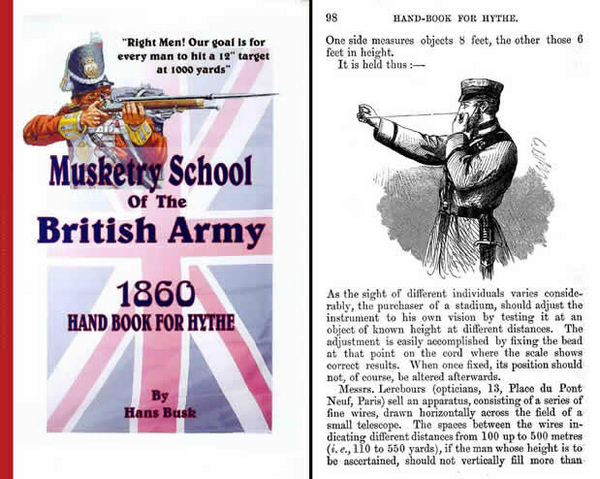 Handbook for Hythe - The School of Musketry of the British Army 1860