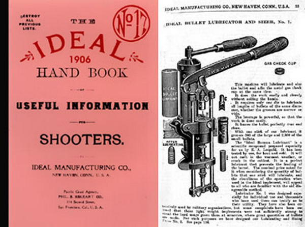 Ideal 1906 (circa) Hand Book of Useful Information #17 Catalog
