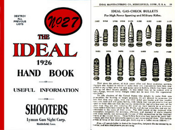 Ideal 1926 Hand Book of Useful Information No. 27 Catalog