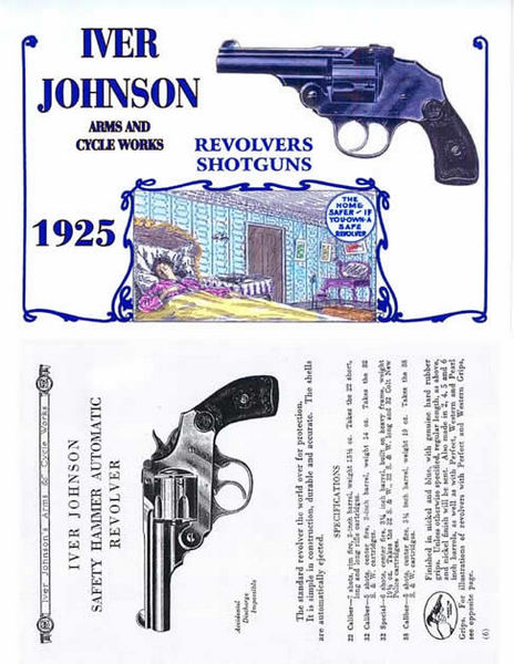 Iver Johnson 1925 Reliable Arms Catalog
