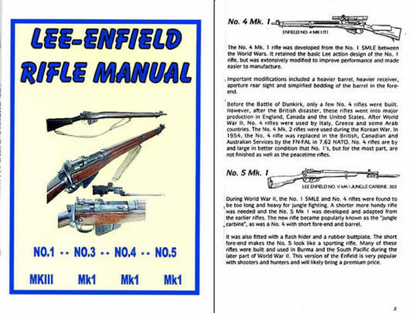 Lee Enfield Rifle Manual and History, c1954