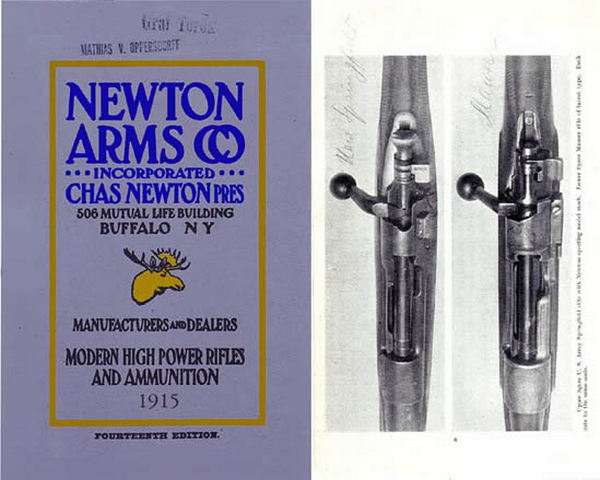 Newton Arms Co. 1916 14th Edition (best reprint)