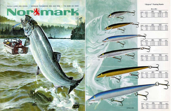 Normark 1969 Catalog with Rapala Lures