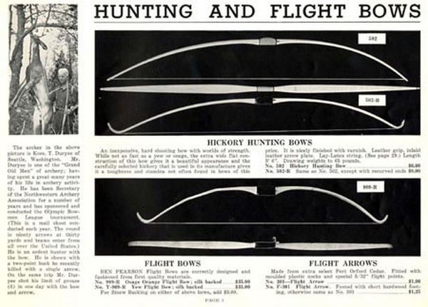 Car Covers Target >> Cornell Publications -Ben Pearson 1941 Archery Catalog
