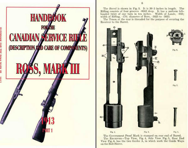 Ross 1913 Handbook - Canadian Service Rifle Mark III- Part 1