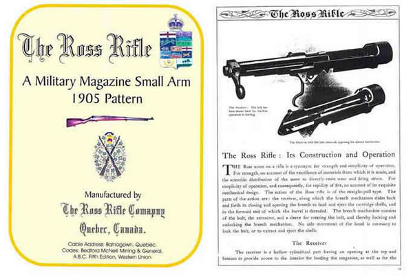 Ross 1906 Rifle Company (1905 Pattern Rifle) Catalog