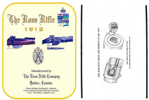 Ross 1912 Rifle Company Catalog