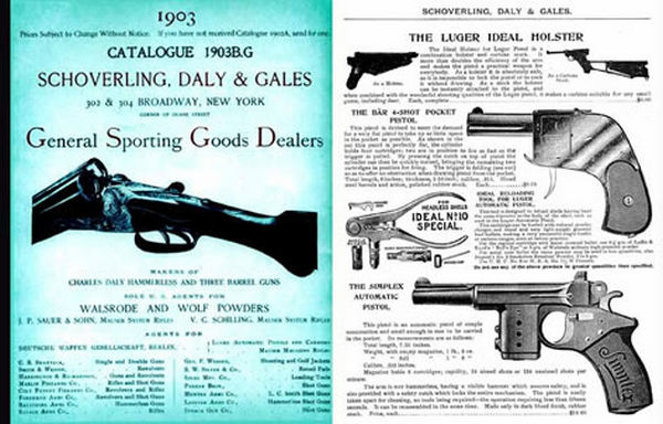 Schoverling, Daly & Gales 1903 Guns Catalogue