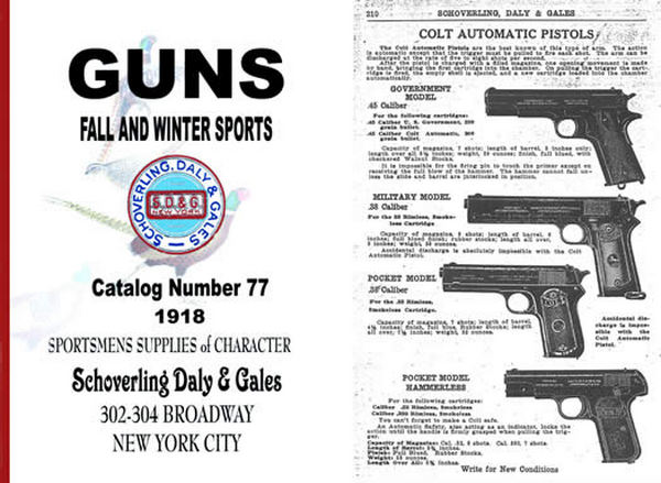 Schoverling, Daly & Gales 1918 Gun & Sport Good Catalog