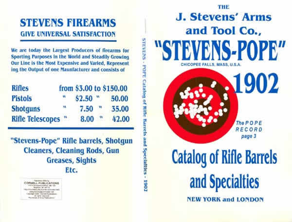 Stevens 1902 - Pope Rifle Barrels and Specialties