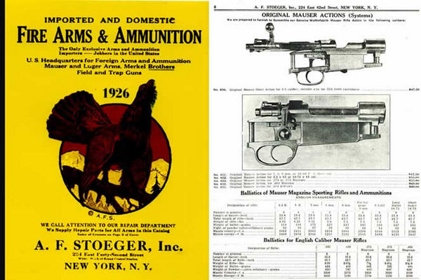 Stoeger 1926 Arms & Ammunition Catalog No. 5