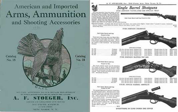 Stoeger 1932 Arms & Ammunition Catalog No. 18