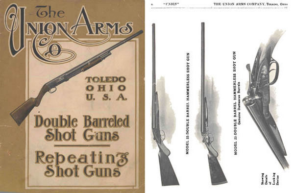 Union Fire Arms 1912 Shot Gun Catalog