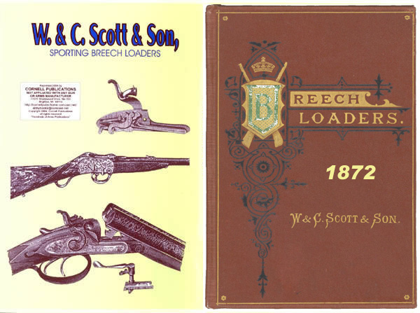 W & C Scott & Son 1872 Shotgun & Rifle Catalog