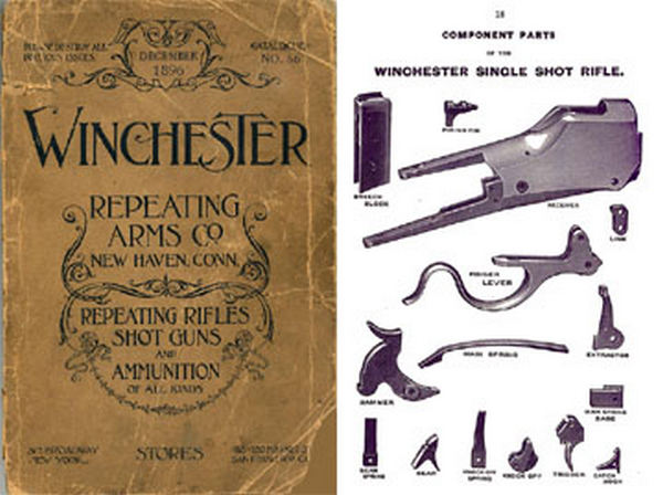 Winchester 1896 December- Repeating Arms Catalog No. 58