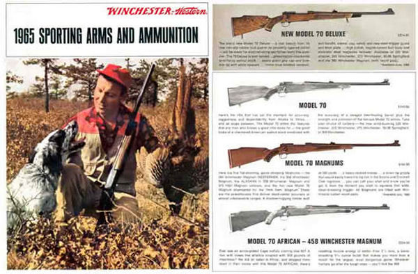 Winchester 1965 Sporting Arms Catalog