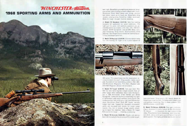 Winchester 1968 Sporting Arms Catalog