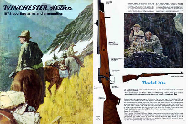 Winchester 1973 Sporting Arms Catalog