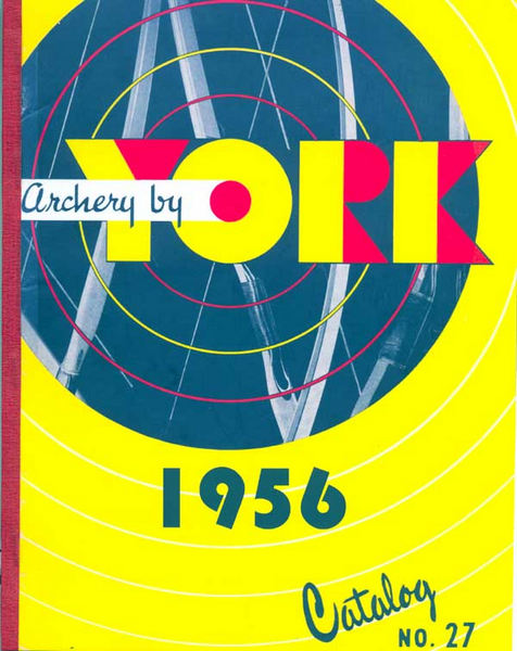 York Archery 1956 Manufacturer Catalog